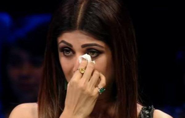 Shilpa Shetty Crying